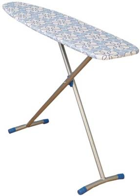 6. Household Essentials Fibertech Top T-Leg Ironing Board
