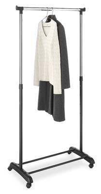 7. 6021-3539-BB Adjustable Garment Rack by Whitmor