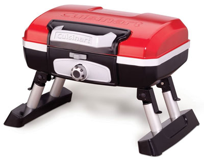 2. Cuisinart CGG-180T Red Gas Grill