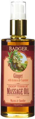 5. Badger Massage Oil