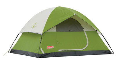 6. Coleman 4 Person Tent