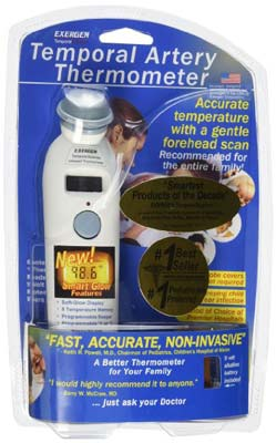 5. Exergen Temporal Artery Thermometer