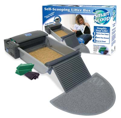 10. SmartScoop Automatic Self-Cleaning Litter Box