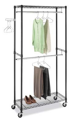 9. 6070-3366-BB Garment Rack by Whitmor