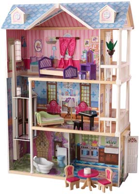 9. KidKraft My Dreamy Dollhouse