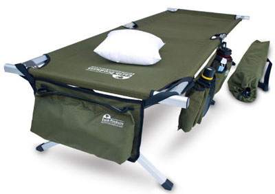 9. Earth Products Store Folding Cot