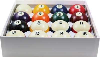 1. Aramith Billiard Ball Set (Crown Standard)