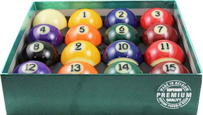 8. Aramith Billiard Pool Balls (Premium)