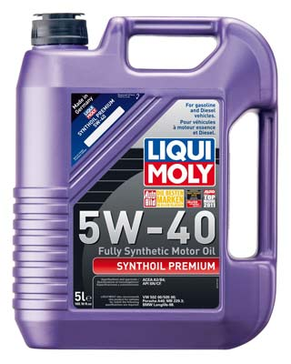 10. Liqui Moly 2041 Synthetic Motor Oil
