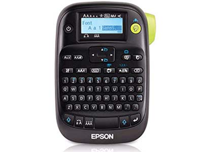 7. Epson LW-400 Label Maker
