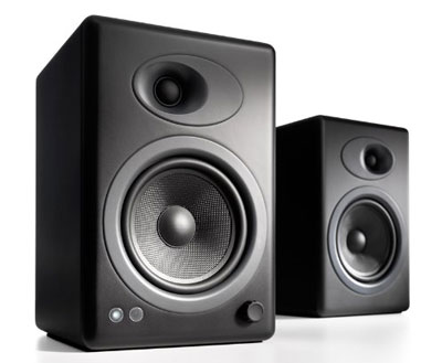 8. Audioengine A5+ 2-Way Speakers