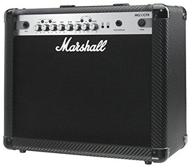 5. Marshall Guitar Combo Amp (MG30CFX)