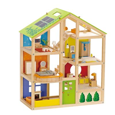 10. Hape Doll House