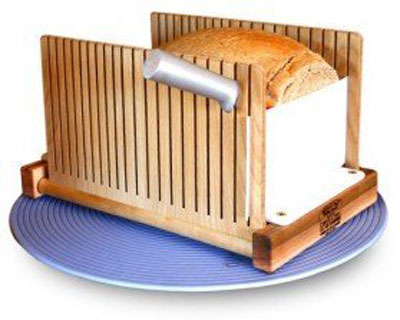 1. SierraBASE LLC Maple and Birch Bread Slicer