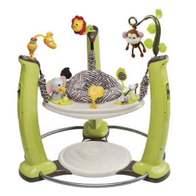 6. Evenflo Exersaucer Jump and Learn Jumper