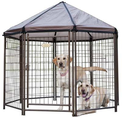 9. Advantek Dog Kennel