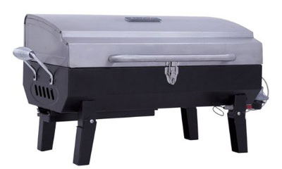 7. Char-Broil Stainless Steel Portable Gas Grill