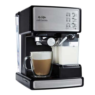 2. Mr. Coffee ECMP1000 Espresso Machine