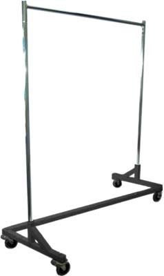 3. Metropolitan Display Rolling Garment Rack
