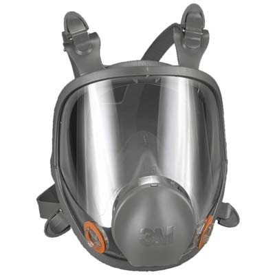 7. 3M Full Facepiece 6700 Respirator