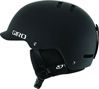 5. Giro Surface-S Snow Helmet (Matte Black)
