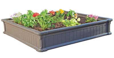 9. Lifetime Raised Garden Bed Kit (60069)