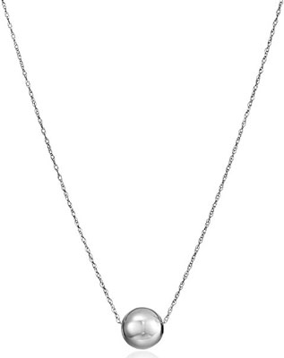 10. Amazon Collection 14k Yellow Gold Necklace