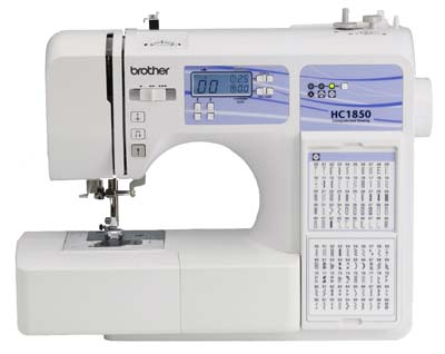 3. Brother HC1850 Sewing & Quilting Machine