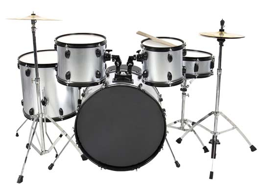 9. Drum Set 5 Pc Complete Adult Set