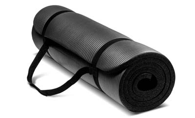3. HemingWeigh Extra Thick Exercise Mat