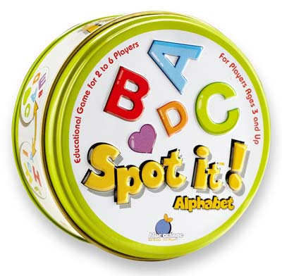 5. Spot it! Alphabet Educational Toy
