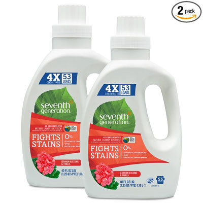 2. Seventh Generation 2pk 4 oz ea Natural Laundry Detergent