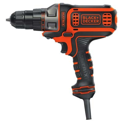 2. Black & Decker BDEMT Corded Power Drill