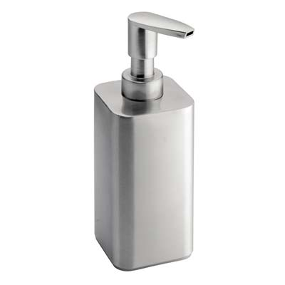 8. InterDesign Soap and Lotion Dispenser (Brushed)