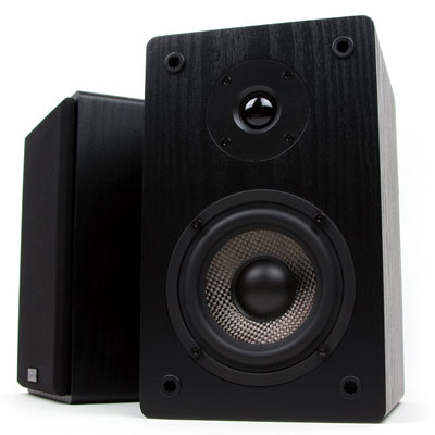 3. Micca MB42 Black Bookshelf Speakers (Pair)