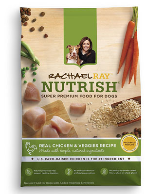 10. Rachael Ray Nutrish Natural Dry Dog Food