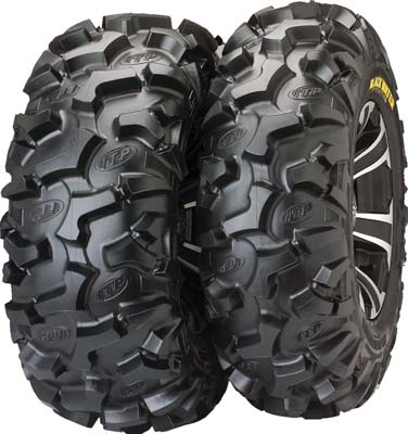 5. ITP Blackwater Evolution Mud Terrain ATV Tire