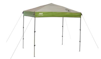 7. Coleman 7 x 5 ft Instant Canopy