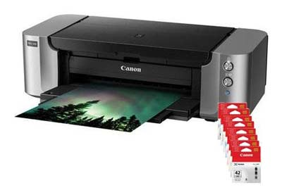 9. Canon PIXMA Pro-100 Professional Photo Printer