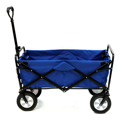 1. Mac Sports Collapsible Folding Wagon (Blue)