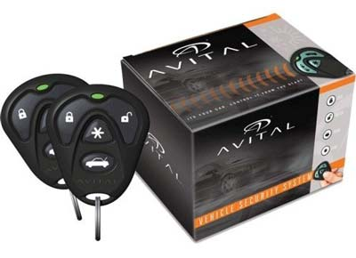 6. Directed Electronics 3100LX 3-Channel Car Alarm
