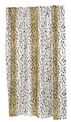 8. Carnation Home Fashions X-Long Shower Curtain