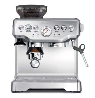 1. Breville BES870XL Espresso Machine