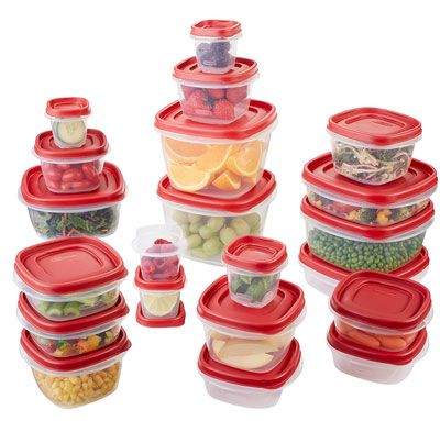 4. Rubbermaid 1880801 42-Piece Set Food Storage Container