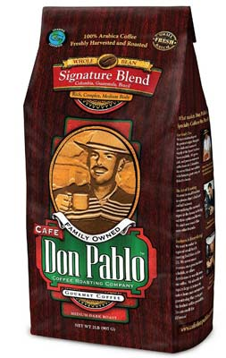 4. Café Don Pablo Whole Bean Coffee (Gourmet Coffee Signature Blend)