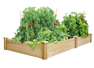 8. Greenes Fence Cedar Raised Garden Bed