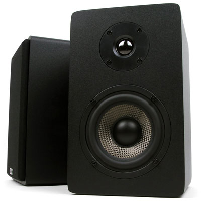 9. Micca MB42X Black Bookshelf Speakers