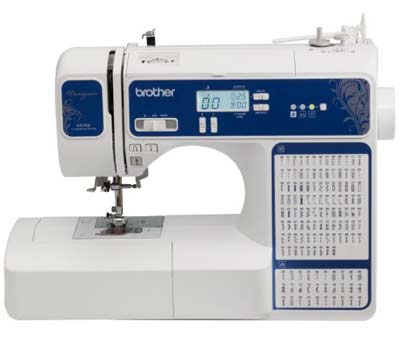 8. Designio Series DZ2400 Sewing & Quilting Machine by Brother
