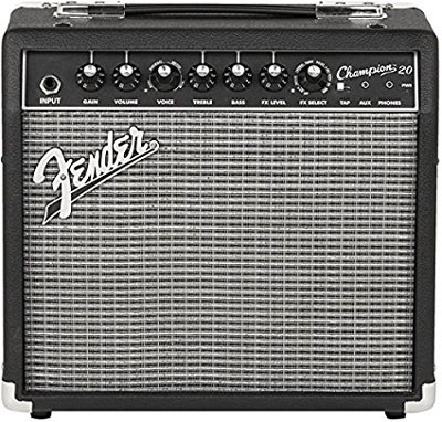 1. Fender Electric Guitar Amplifier (Champion 20)