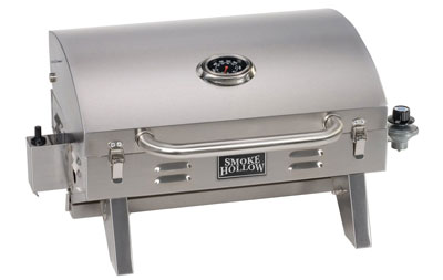 4. Smoke Hollow 205 Stainless Steel Gas Grill